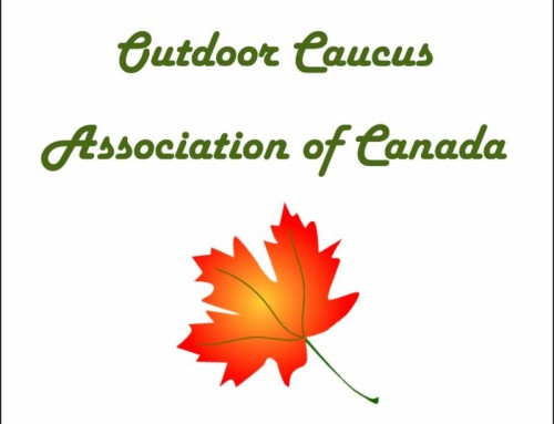 OUTDOOR COMMUNITY URGED TO SUPPORT PRIVATE MEMBER'S BILL