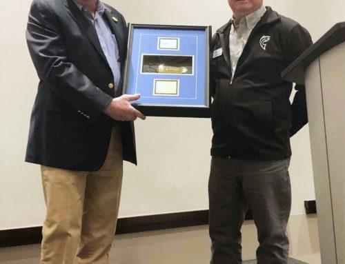 Shimano's Phil Morlock Receives Sportfishing Industry Award